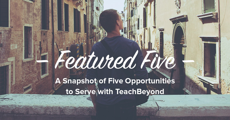 Featured Five TeachBeyond